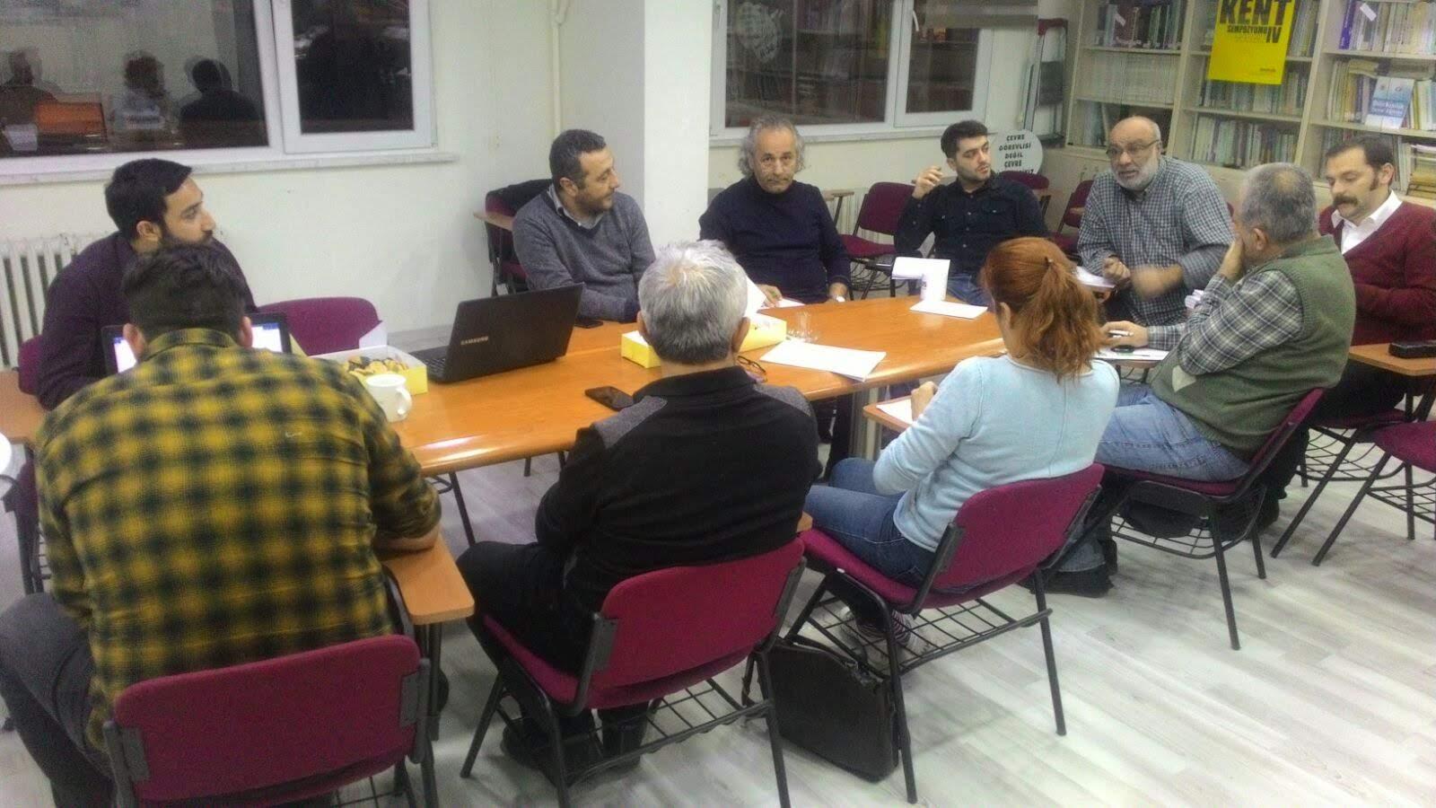 TMMOB İstanbul İl Koordinasyon Kurulu Kanal İstanbul Çalışma Grubu Kuruldu